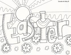Cool Easter Coloring Pages Easter Pinterest Coloring