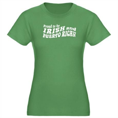 Irish And Proud Four Leaf Clover Funny Slogans Sayings Men/'s T-shirt