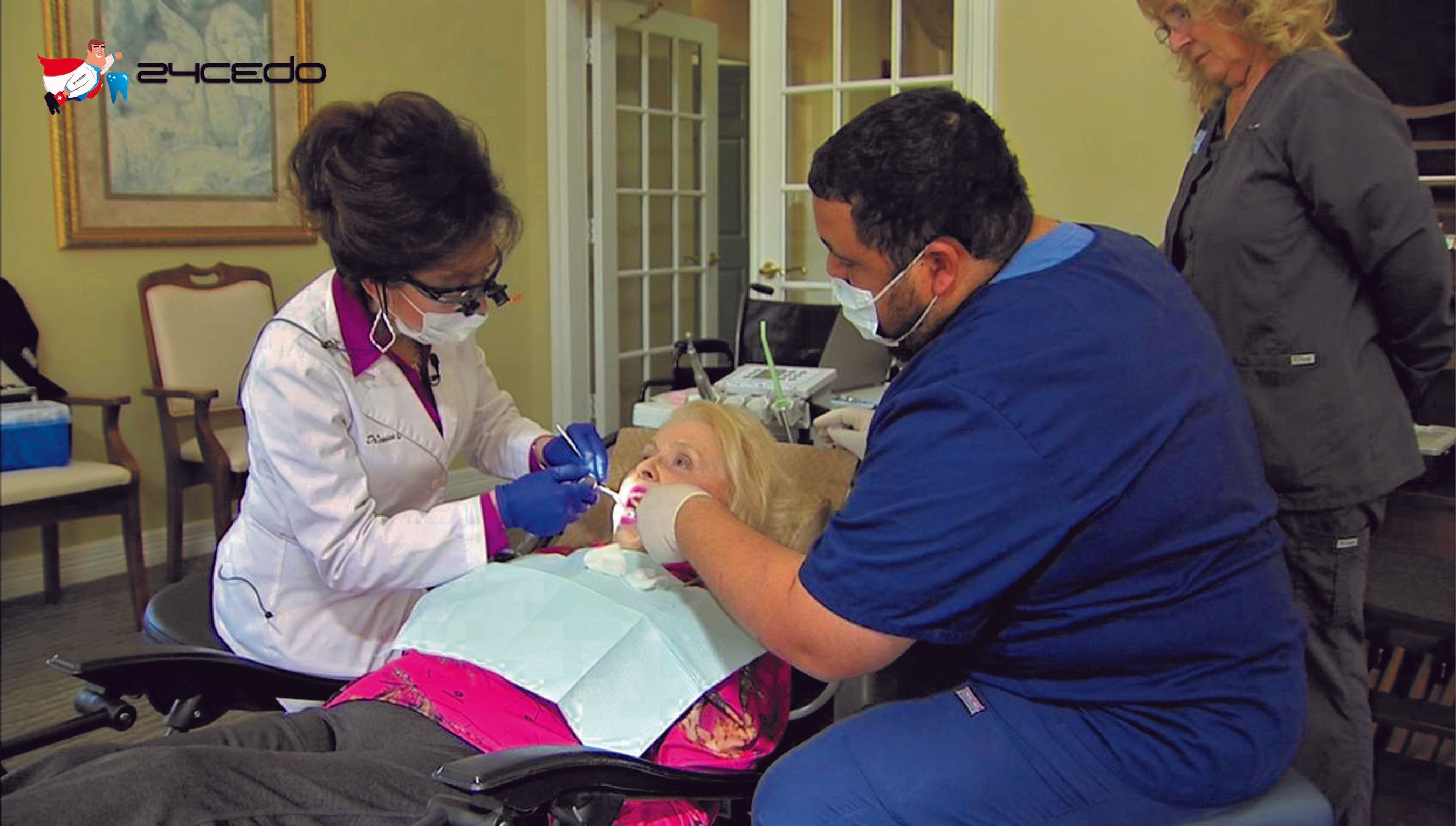 Pin on at home dentist