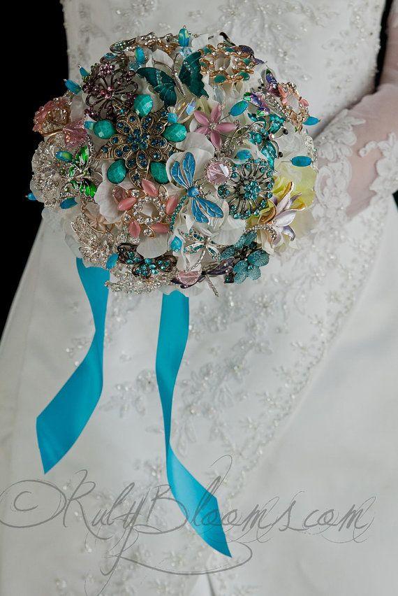 Wedding broach bouquet 7\