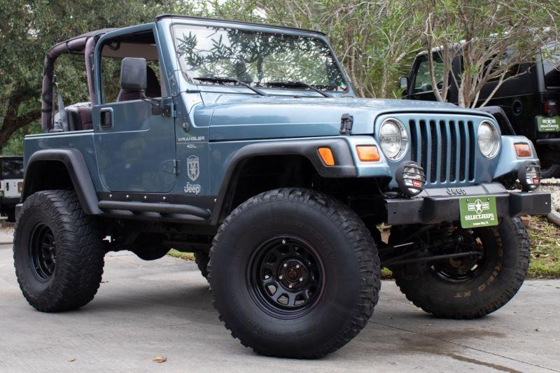 1999 Jeep Wrangler Sport Gunmetal Blue 8995 1999 Jeep