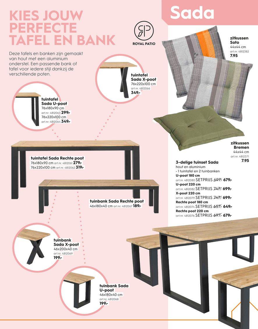 Houten Tuinbank Blokker.Blokker Folder Blokker Tuin Tuinspecial 2019 Royal Patio