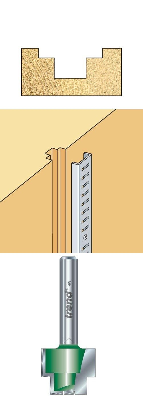 Recessing cutter for producing double rebates. * For producing recesses with a lower rebate. * Designed to accept library/bookcase strip. Ref. C231 is specifically designed for Tonk Strip. 19mm #Rebater #Cutter. http://www.woodfordtooling.com/craftpro-router-cutters/rebaters/strip-recessers/19mm-rebater.html