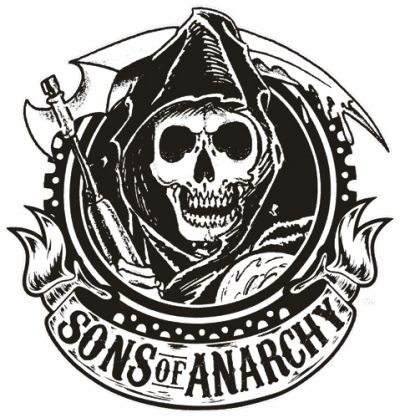 T-shirt Sons of Anarchy Logo