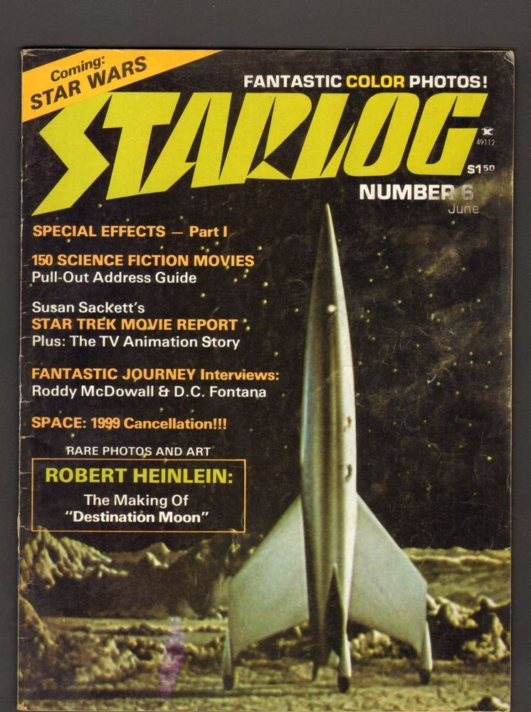 Starlog the magazine of the future june 1977 number 6
