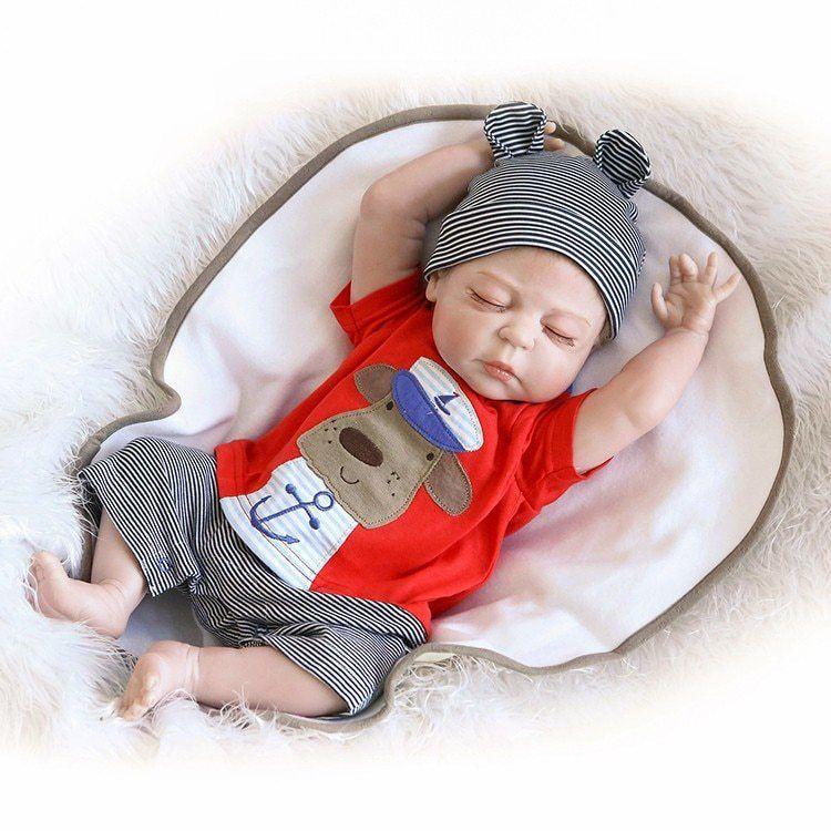 Bebes Reborn muñecas realistas baby Doll silicona suave cuerpo completo  vinilo Boneca muñeca para niñas Juguetes 88600b902051