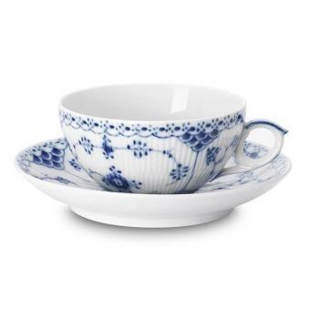 Wedgwood Jasper Conran Tee-Untertasse aus feinem Porzellan Wei/ß
