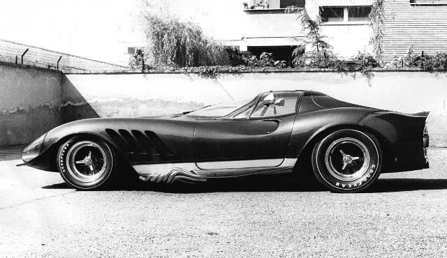 "1969 Ferrari ""Thomassima III"" Custom Car by Tom Meade"