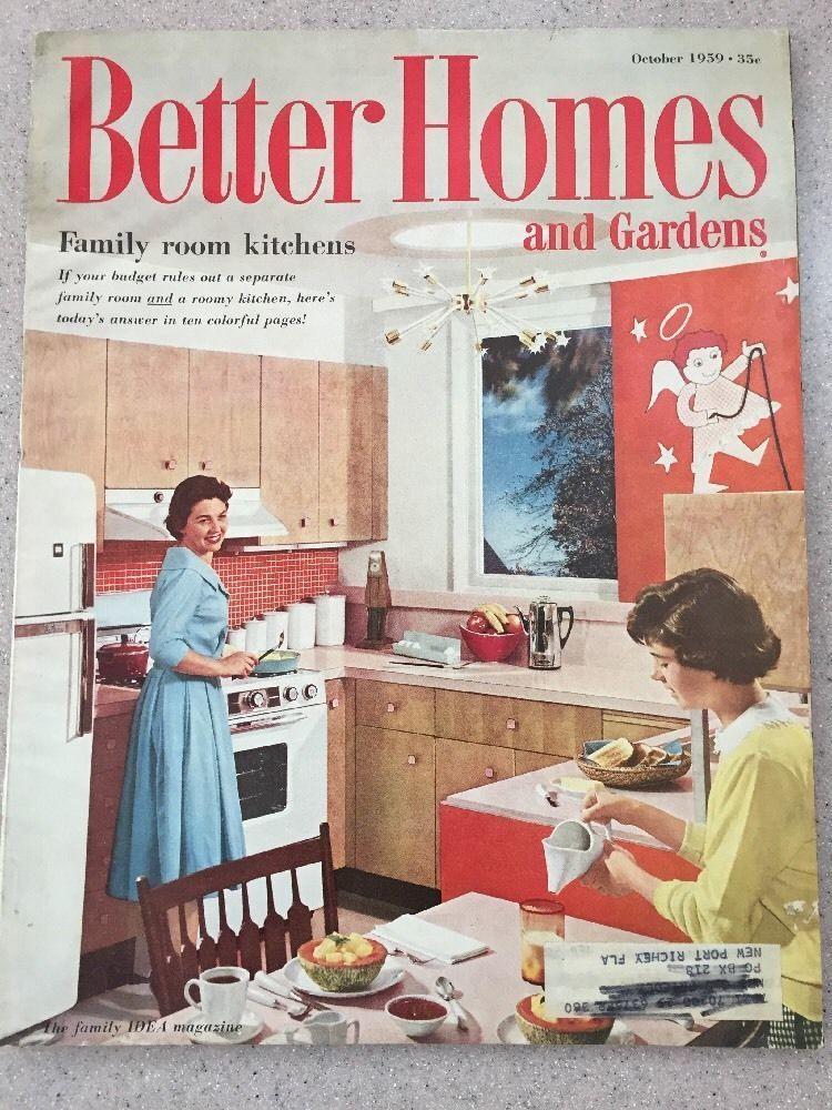 Better Homes And Gardens October 1959 Vintage 1950 S Magazine