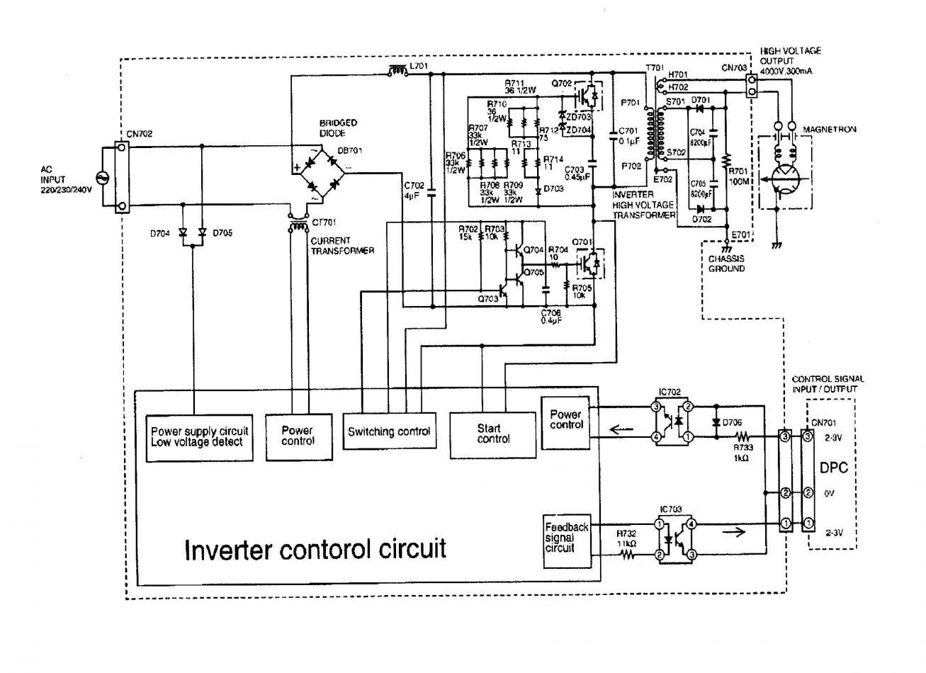 Microwave Oven Schematic Microwave Schematic Diagram?   j