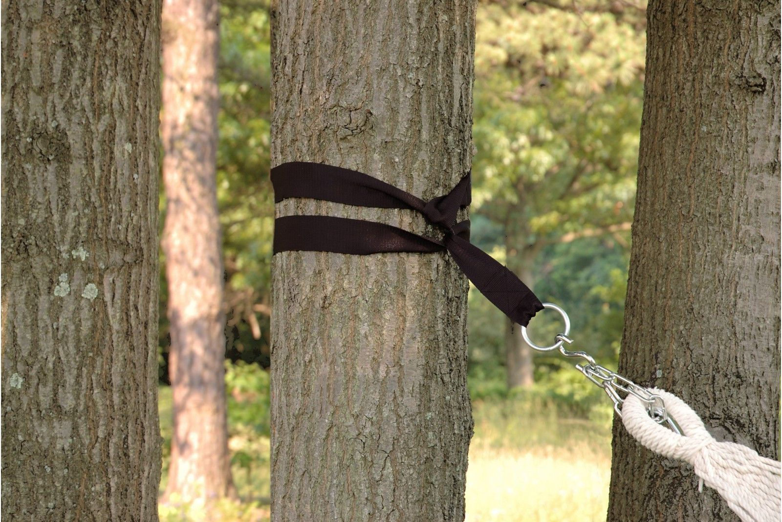 "Patio Bliss Accessories 2 Tree Straps and ""S"" hooks - Brown"
