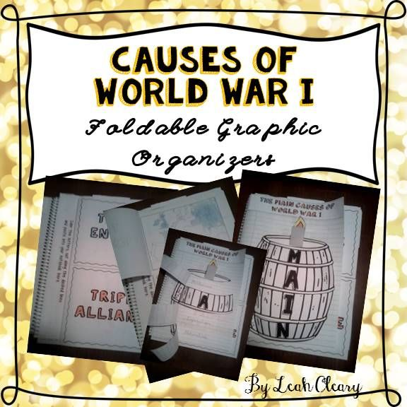 Causes of world war i foldable graphic organizers graphic causes of world war i foldable graphic organizers fandeluxe Choice Image