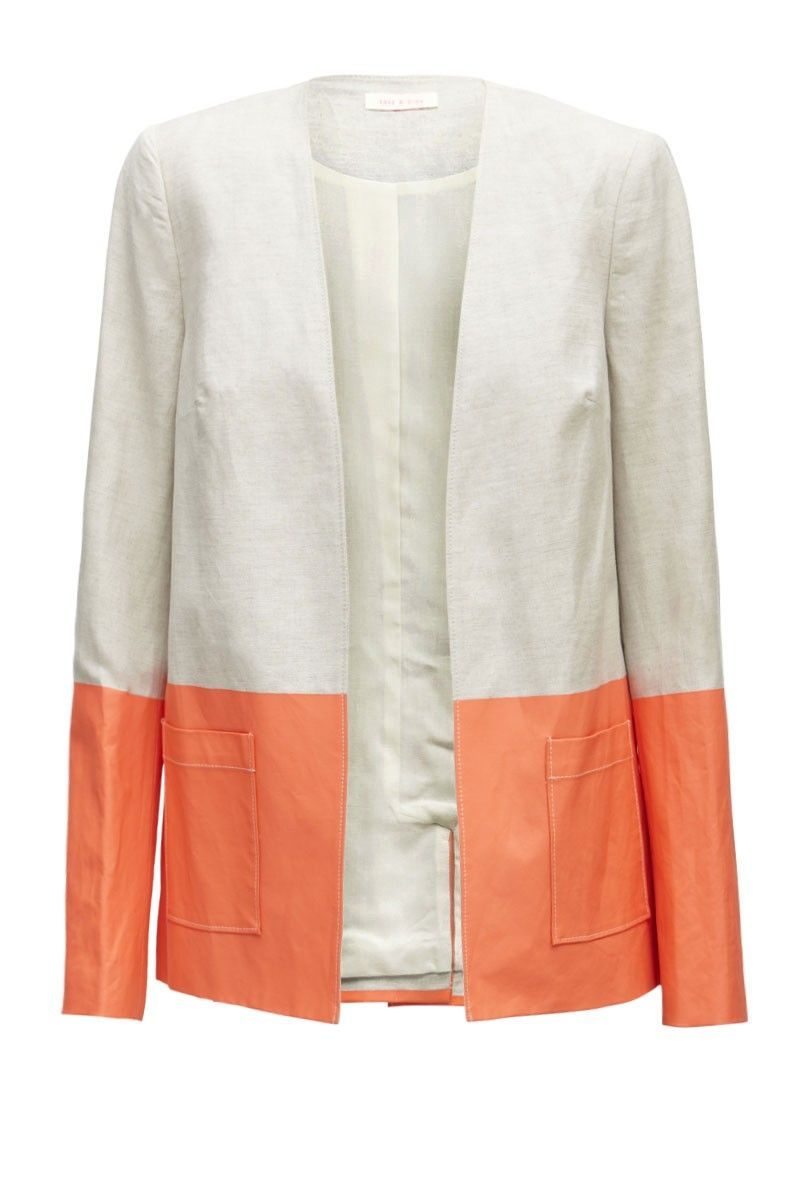Coral Dipped Jacket