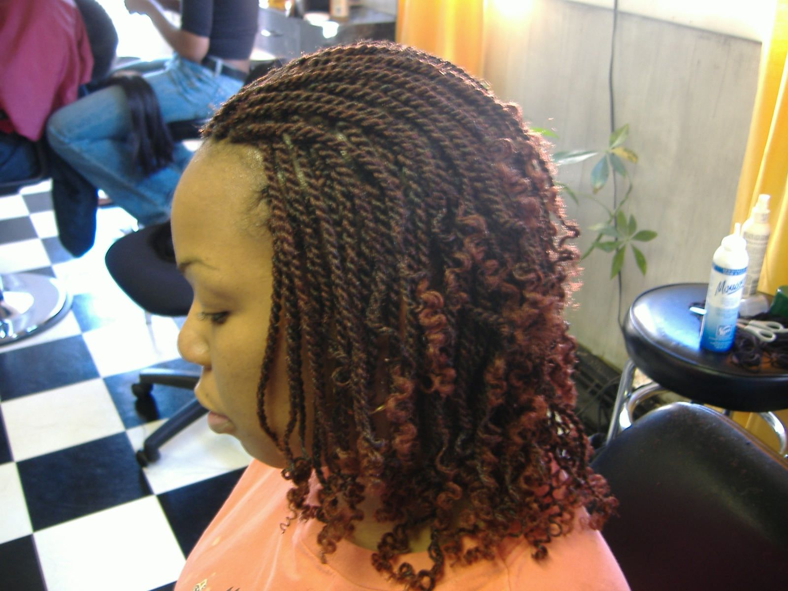 Kinky Twist Color 1B/350 | Braids | Pinterest