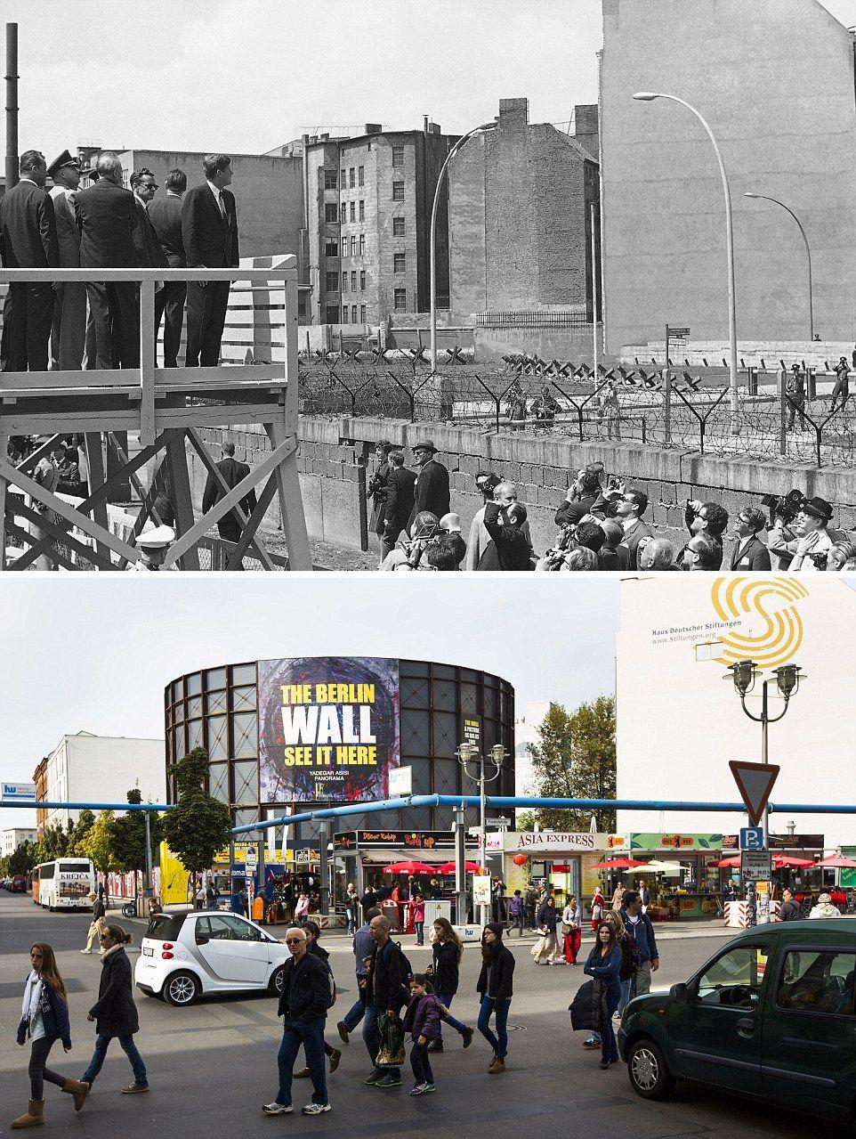 photo combinations show how berlin has changed berlin on berlin wall id=57556