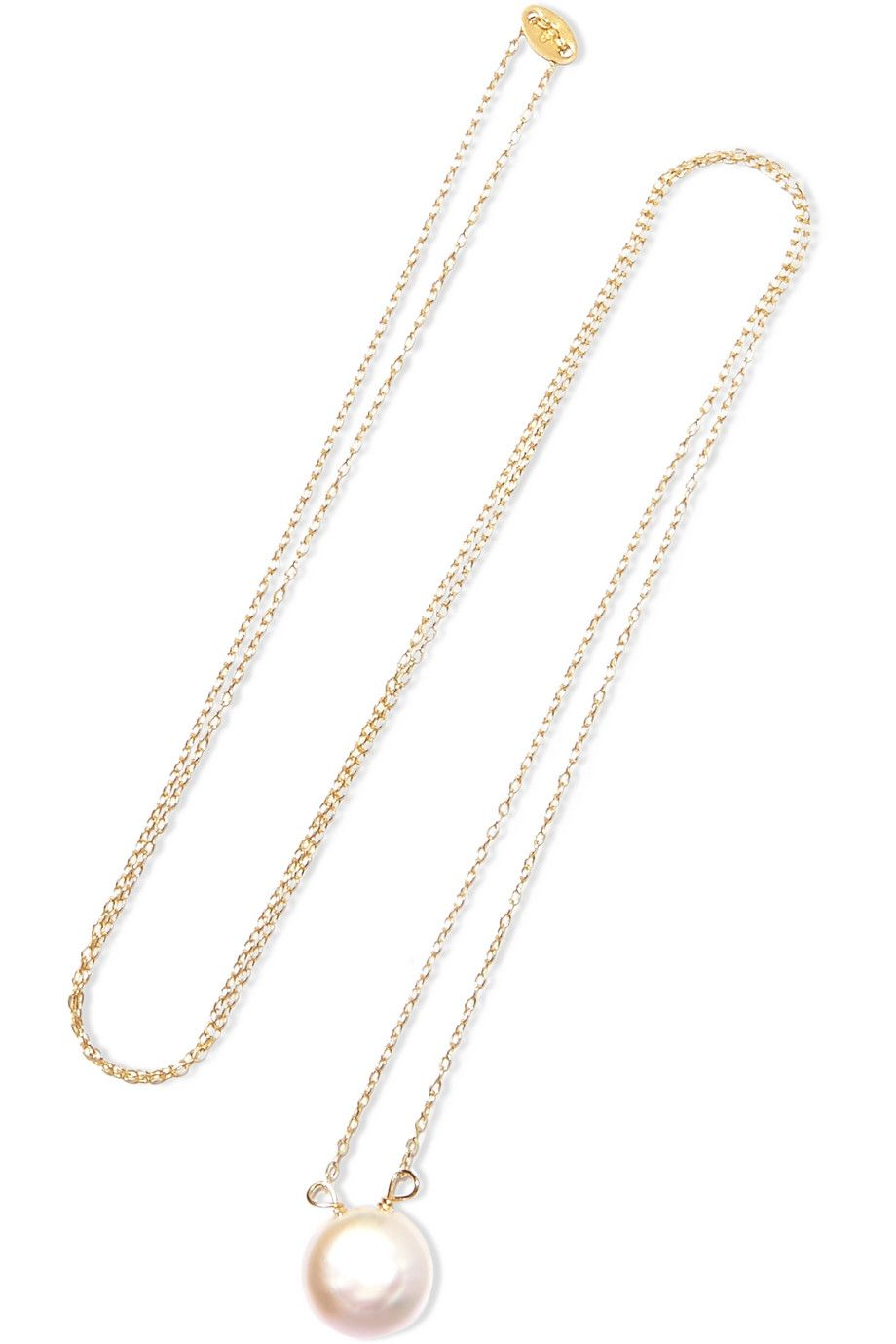Magda Butrym pearl and gold necklace - White 4qUlcoFd