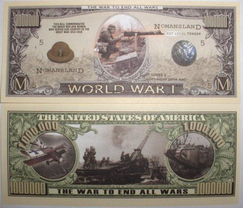 Set World War Of Million By Dollar 10 I Novelties Bills Bill nmwN80