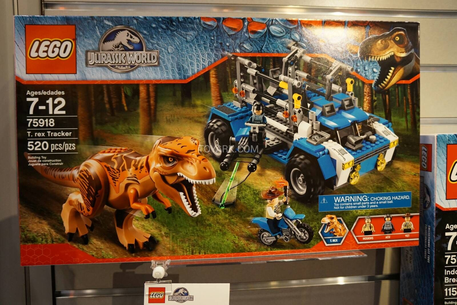 LEGO Jurassic World T-Rex Tracker   Welcome to Jurassic Park   Pinterest