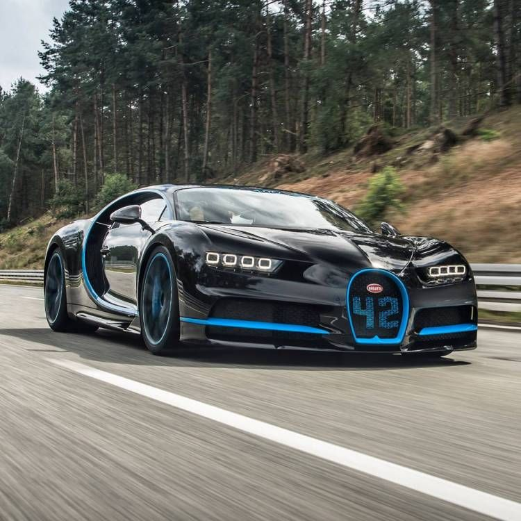 2017 Bugatti Chiron Sets World Record For Going From 0 To 249mph And Back  To 0