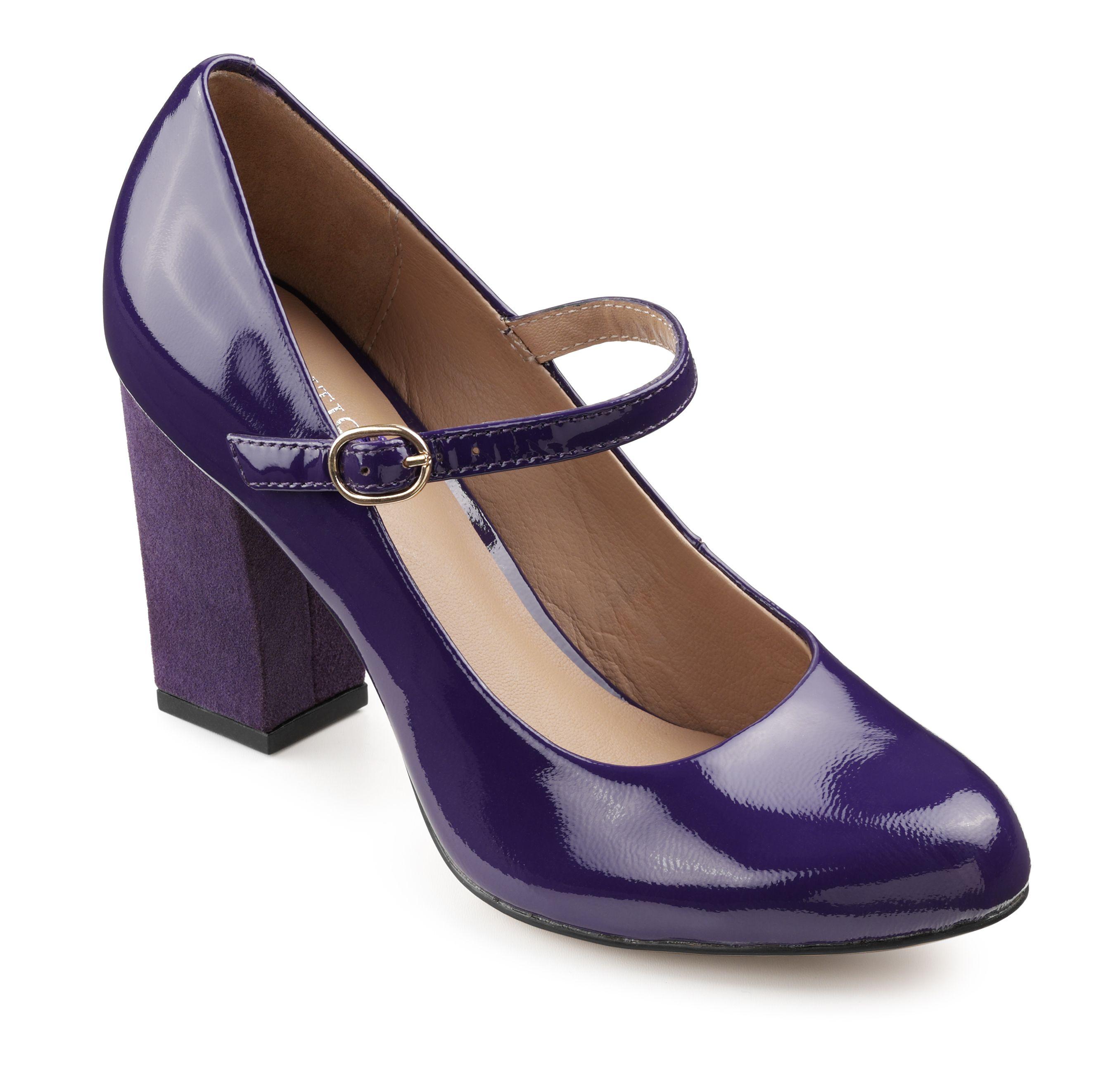 Purple dress with shoes  Fame  Dark Purple Patent  Astonishing Shoes  Pinterest  Dark