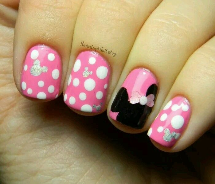 Mini Maus | Nails *_* | Pinterest | Uña decoradas, Pintura de uñas y ...