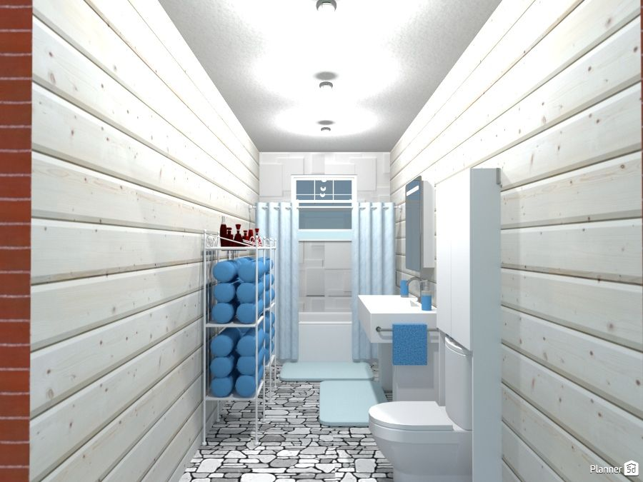 Pin by Planner 5D - home design tool on Bathroom | PLANNER ...
