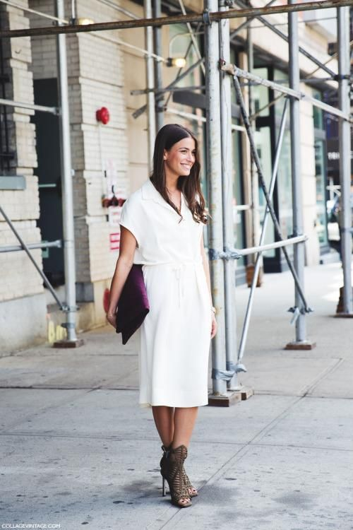 What to Wear With a Little White Dress | StyleCaster