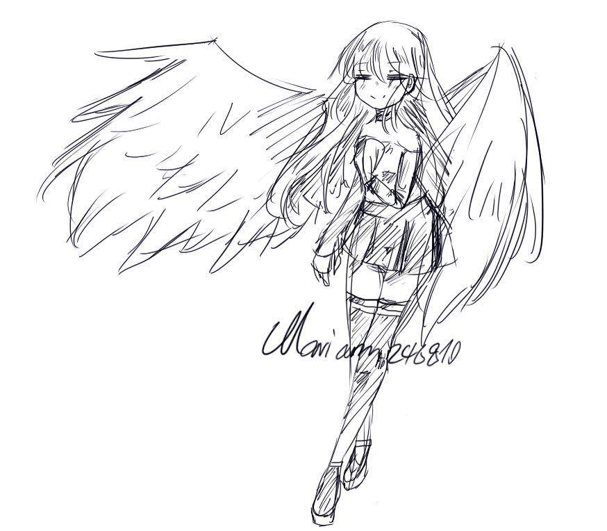 Doodle خربوشة صغيرة Aillis Anime Draw Drawing Like4like Paint Painting Follow Painter Kawaiianime Kawaii Ka Instagram Posts Art Instagram