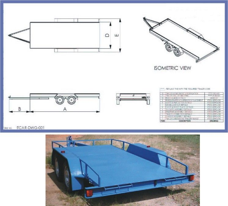 Trailer Plans With Images Trailer Plans Flatbed Trailer