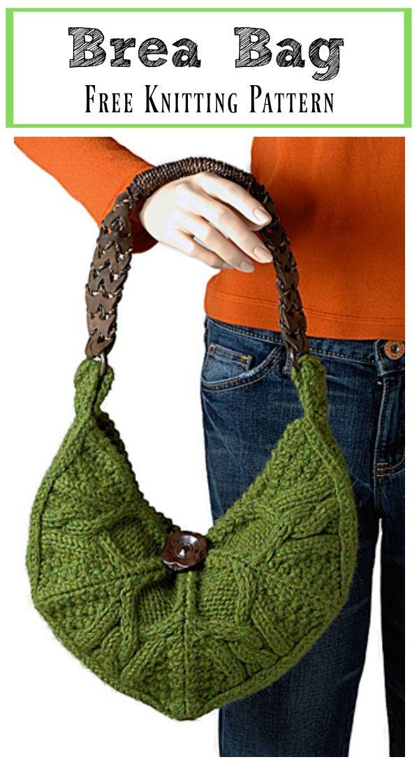 Brea Bag Free Knitting Pattern #Freepattern #Knitting #Bag #Purse ...