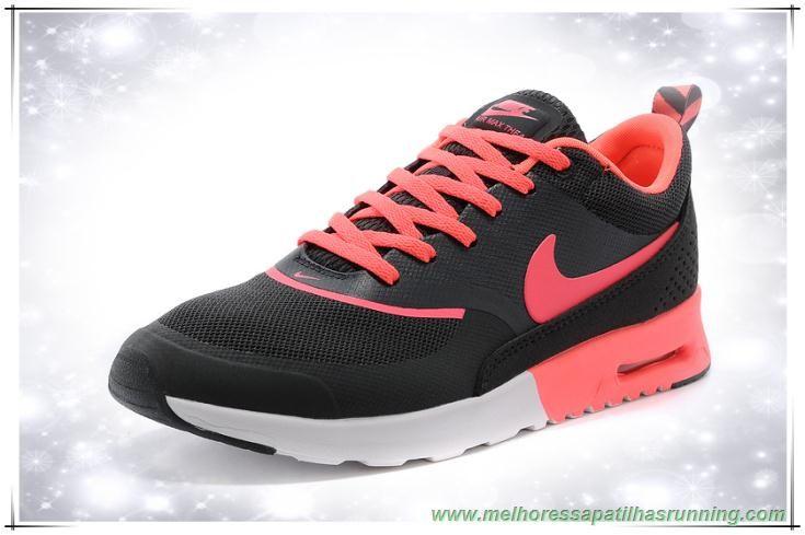 Nike Air Max Thea Print 599409 016 Branco Preto Rosa Novo