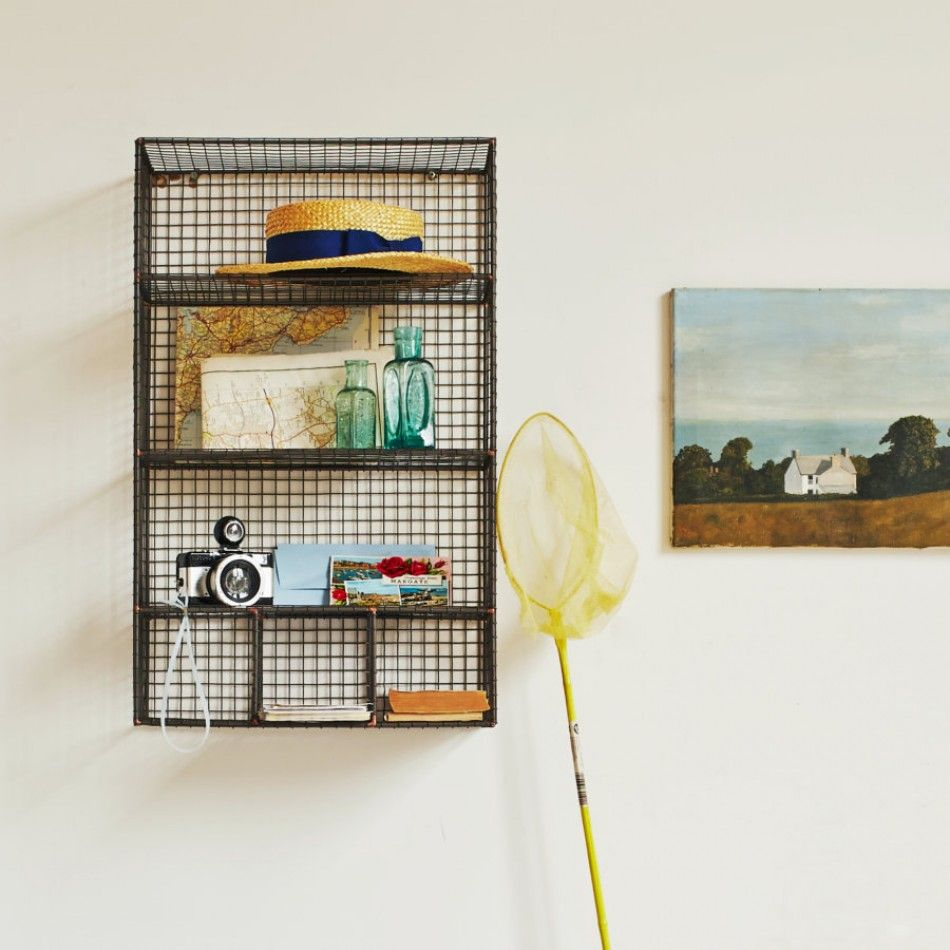 Wall Mount Wire Shelving Target Chapter 9 Bohemian Bathroom Vintage Wire Baskets As Shelves In