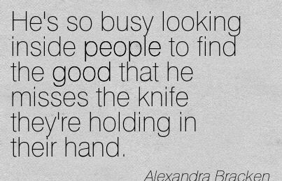 "Quote from the book series ""The Darkest Minds"" by Alexandra Bracken"