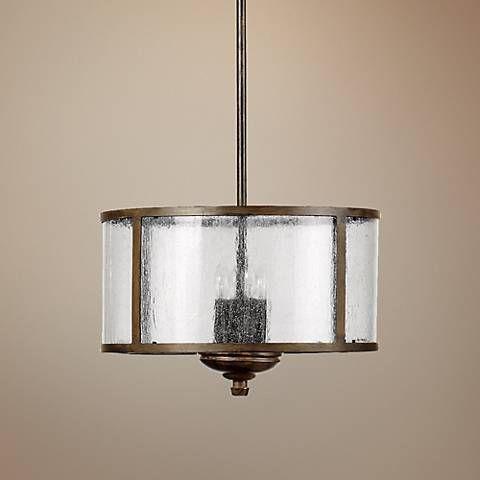 Shop Kichler Lighting Ania 3 Light Semi Flush Chandelier