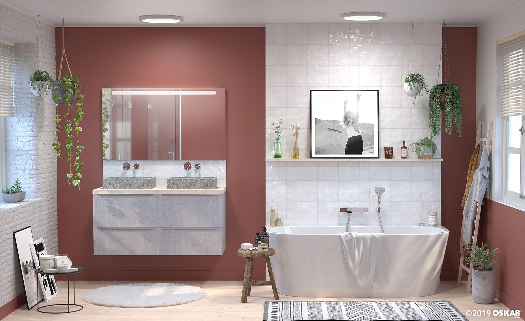 Meuble De Cuisine Salle De Bains Rangement Oskab Idee Salle De Bain Salle De Bain Pmr Deco Salle De Bain Toilette