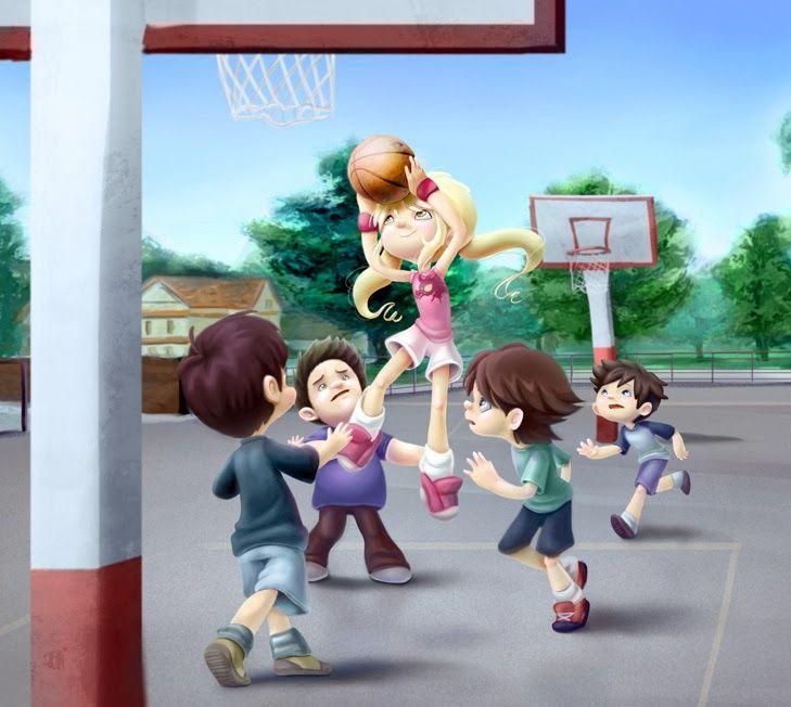 5 ejercicios para ense arle baloncesto a los ni os - Actividades para ninos pequenos ...