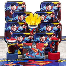 Superman Party Decorations Supplies and Ideas