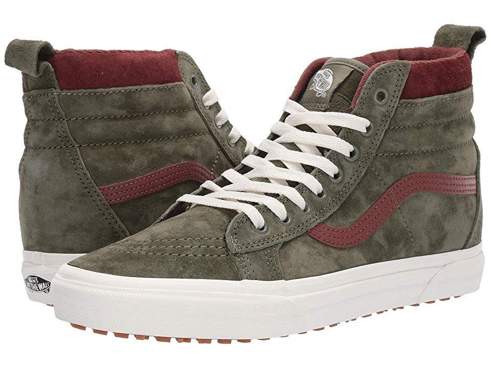 Chaussures Vans Sk8 Hi MTE Deep Lichen Green