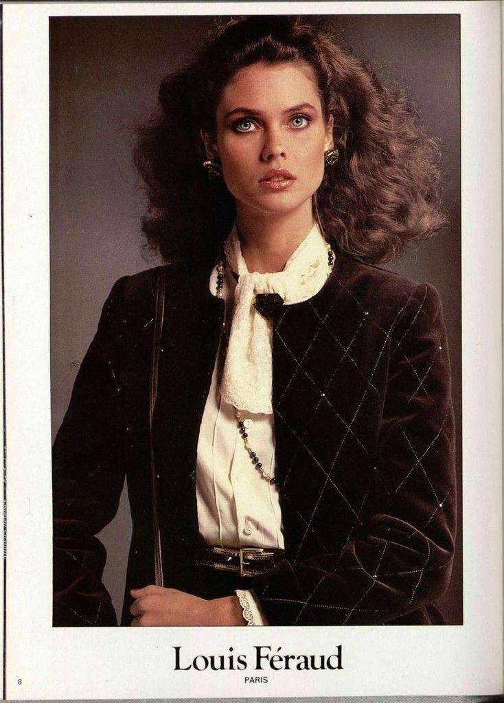 Louis Feraud 1980s | Модели, Фотосессия, Мода