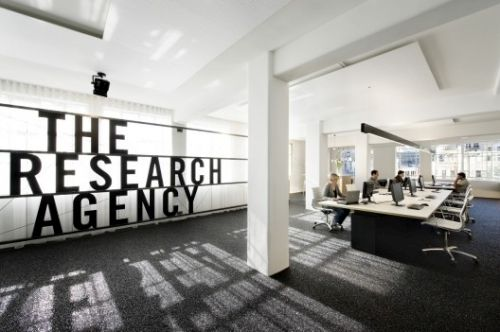 The Research Agency Visioning Pinterest Office designs
