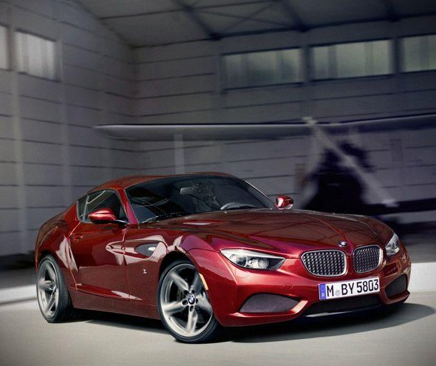 Bmw Zagato Roadster: BMW Zagato Coupe