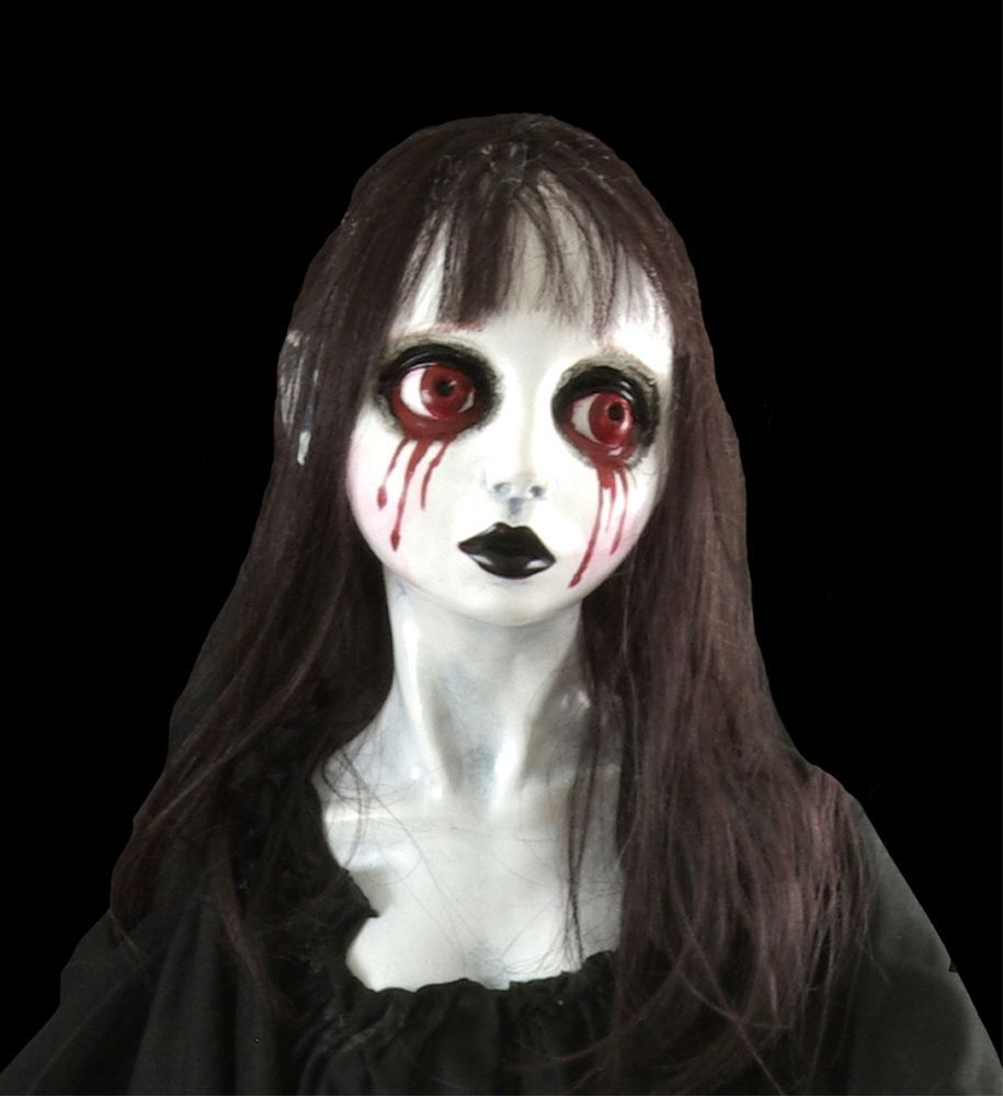 Gothic Prop BLOODY MARY GHOST SPIRIT DOLL Hung Corpse Bride - Halloween Ghost Decorations