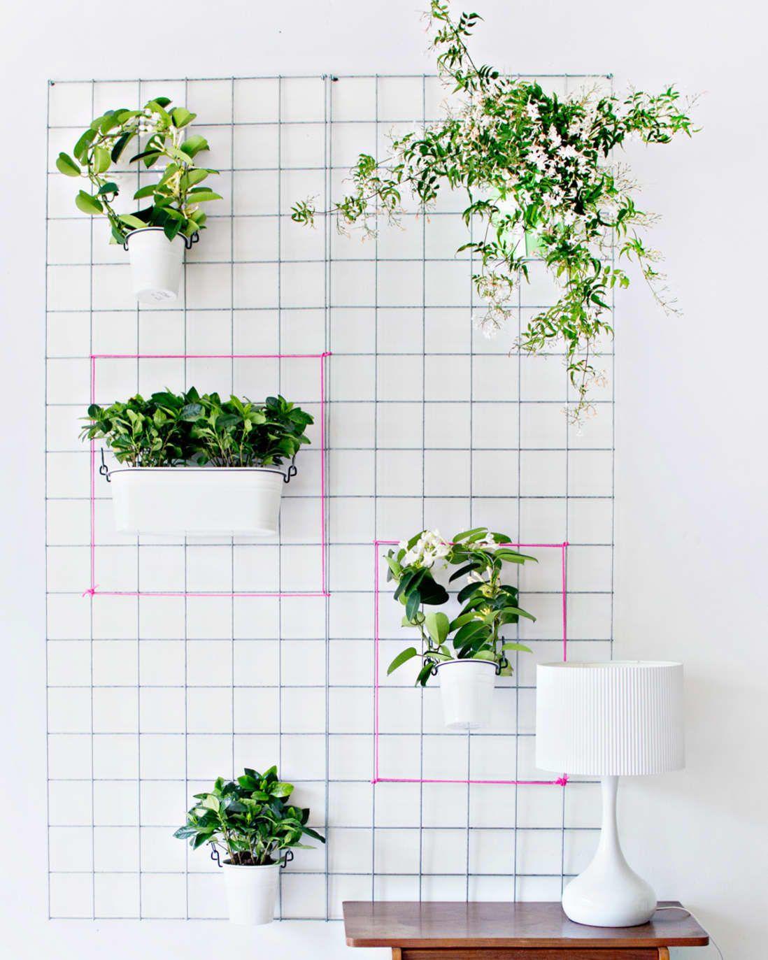 The Best Indoor Garden Ideas For Bringing The Great Outdoors Inside Diy Wall Planter Indoor Garden Apartment Indoor Garden