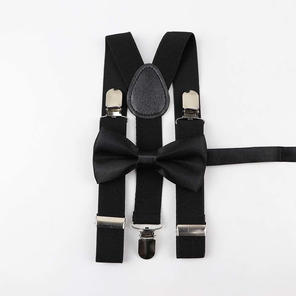 US Toddler Kids Baby Adjustable Suspender Girl Boy Clip-on Elastic Y-back Braces