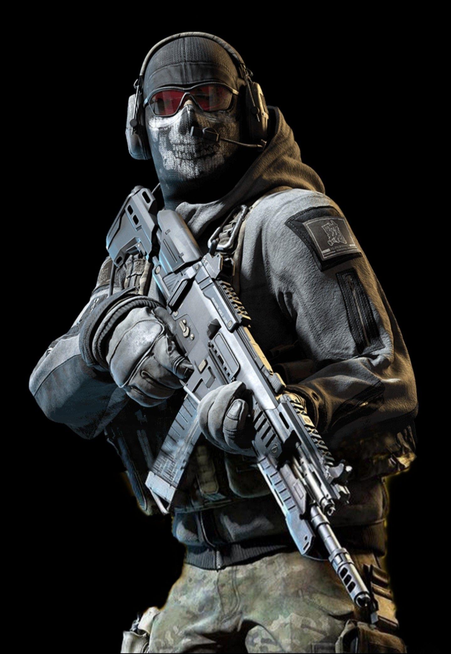 Ghost Call Of Duty Papel De Parede Do Exercito Papeis De