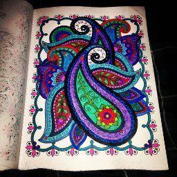 Dover Creative Haven Mehndi Designs Coloring Book Books Marty Noble