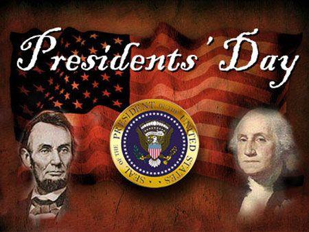 <3 PRESIDENT'S DAY <3 Deze dag bestat niet in Nederland. Ik weet dat dit in Amerika elke derde maandag van februari een feestdag is ter ere van de presidenten. Hoe het precies zit weet ik niet en daarom lijkt het mij leuk om deze dag een keer mee te maken in het echt!!!