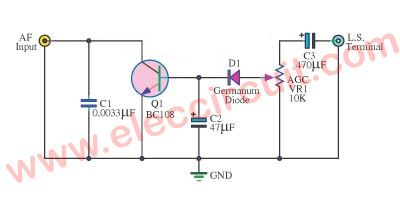 Simple AGC for radio receiver | Simple electronic circuits and Radios