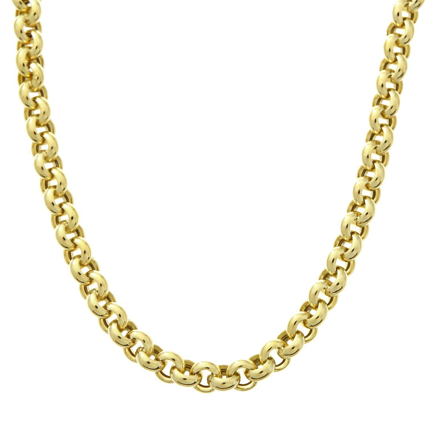 Citerna 9 ct Yellow Gold Wide Anchor Chain Necklace dyYVq
