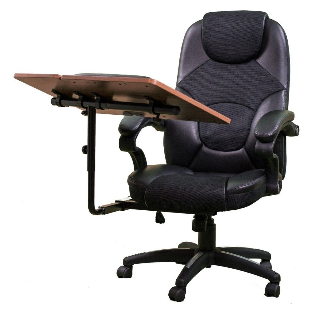 Office Chair With Attached Desk